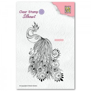 Stempel Nellie's Choice PEACOCK