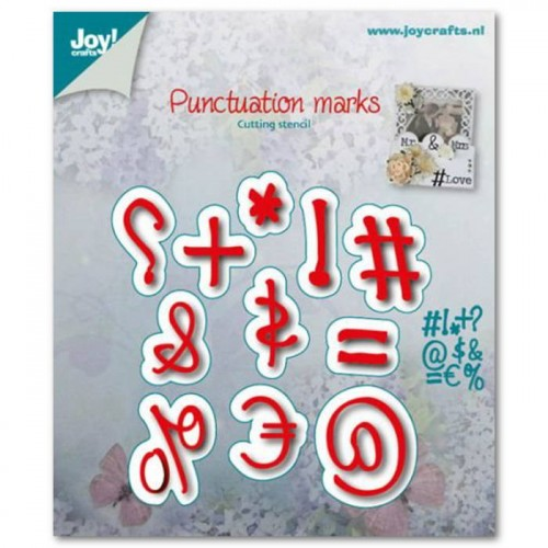 Wykrojnik Joy Crafts PUNCTUATION MARKS