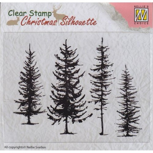 PINE TREES Stempel Nellie's Choice