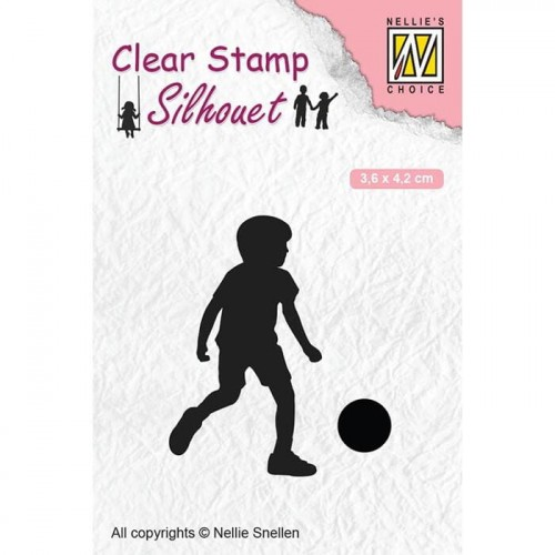 Stempel Nellie's Choice FOOTBALL PLAYER
