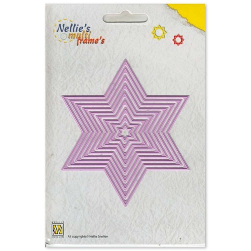 Wykrojniki Nellie's Choice Straight Star MFD061