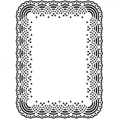 Folder do embossingu Darice DOILY LACE