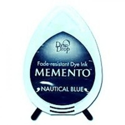 Tusz do stempli Memento Dew Drop NAUTICAL BLUE