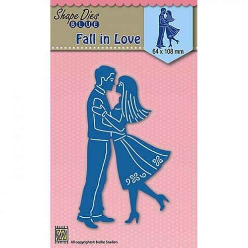 FALL IN LOVE Wykrojnik Nellie's Choice
