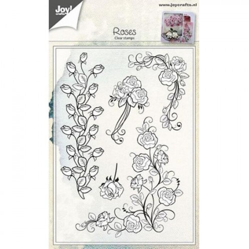 ROSES Stempel silikonowy Joy Crafts