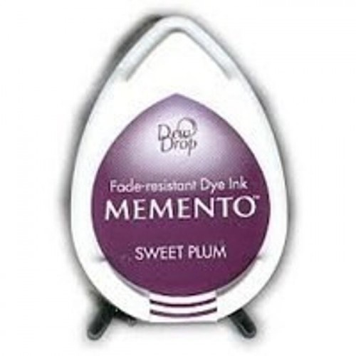 Tusz do stempli Memento Dew Drop SWEET PLUM