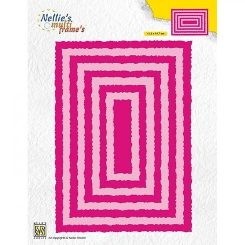 Wykrojnik Nellie's Choice PHOTO FRAMES RECTANGLES