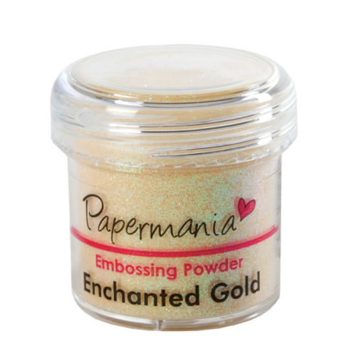 Puder do embossingu Papermania ENCHANTED GOLD